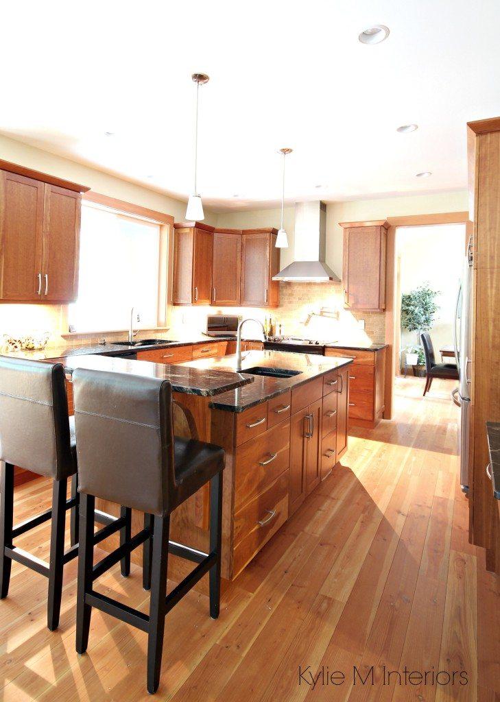A Beautiful Wood And Granite Kitchen Design