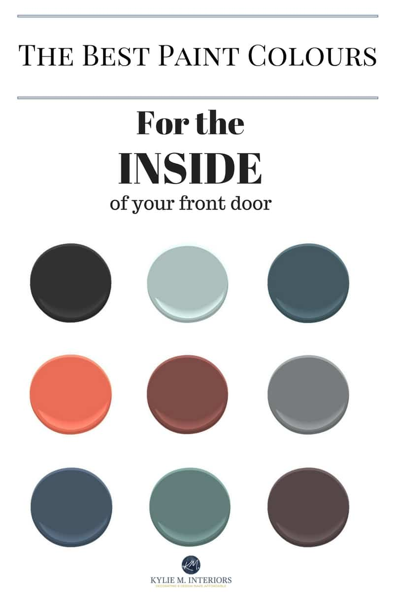 Superb The Best Colours To Paint The Inside Of Your Front Door Interior Design Ideas Gentotryabchikinfo