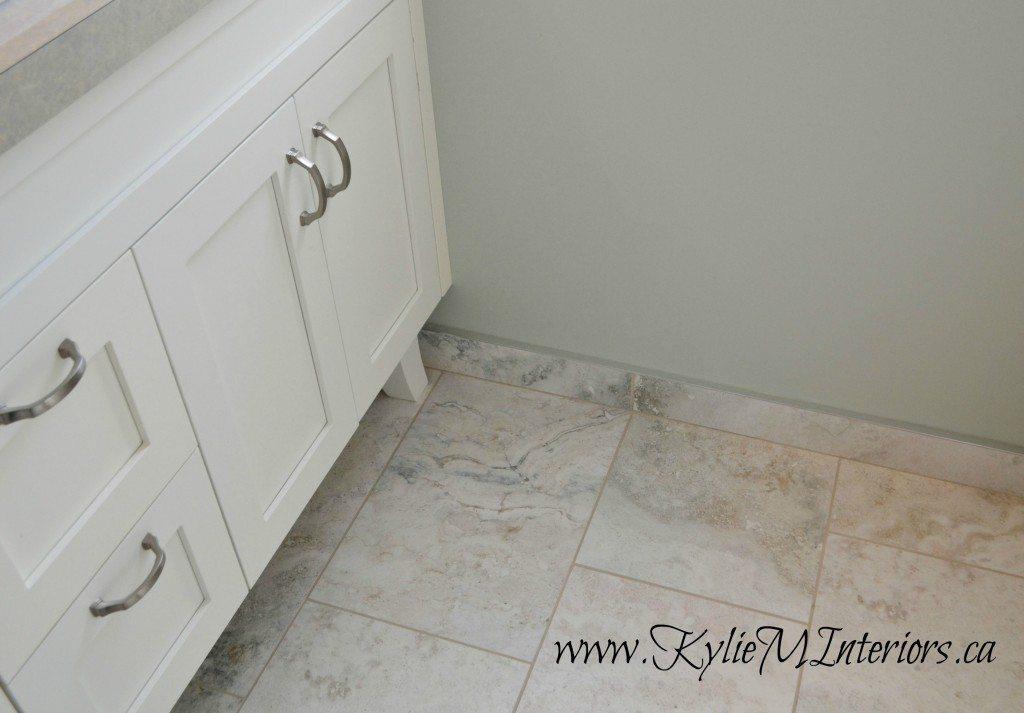 Bathroom Tile Floor Molding : Tile baseboard in bathroom porcelain tiles white