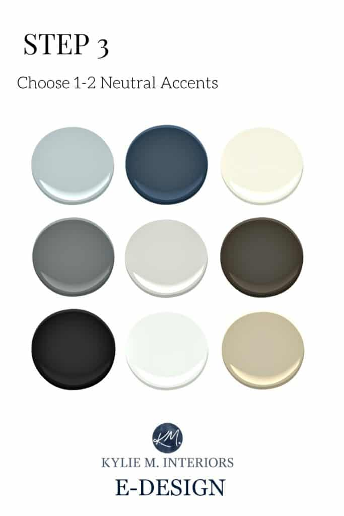 Neutral paint colours and accents for gender neutral nursery, twins, or boy, girl room. Kylie M E-design