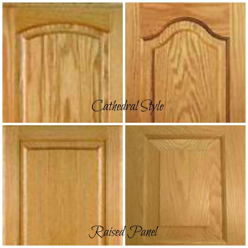 raised panel oak kitchen cabinets images