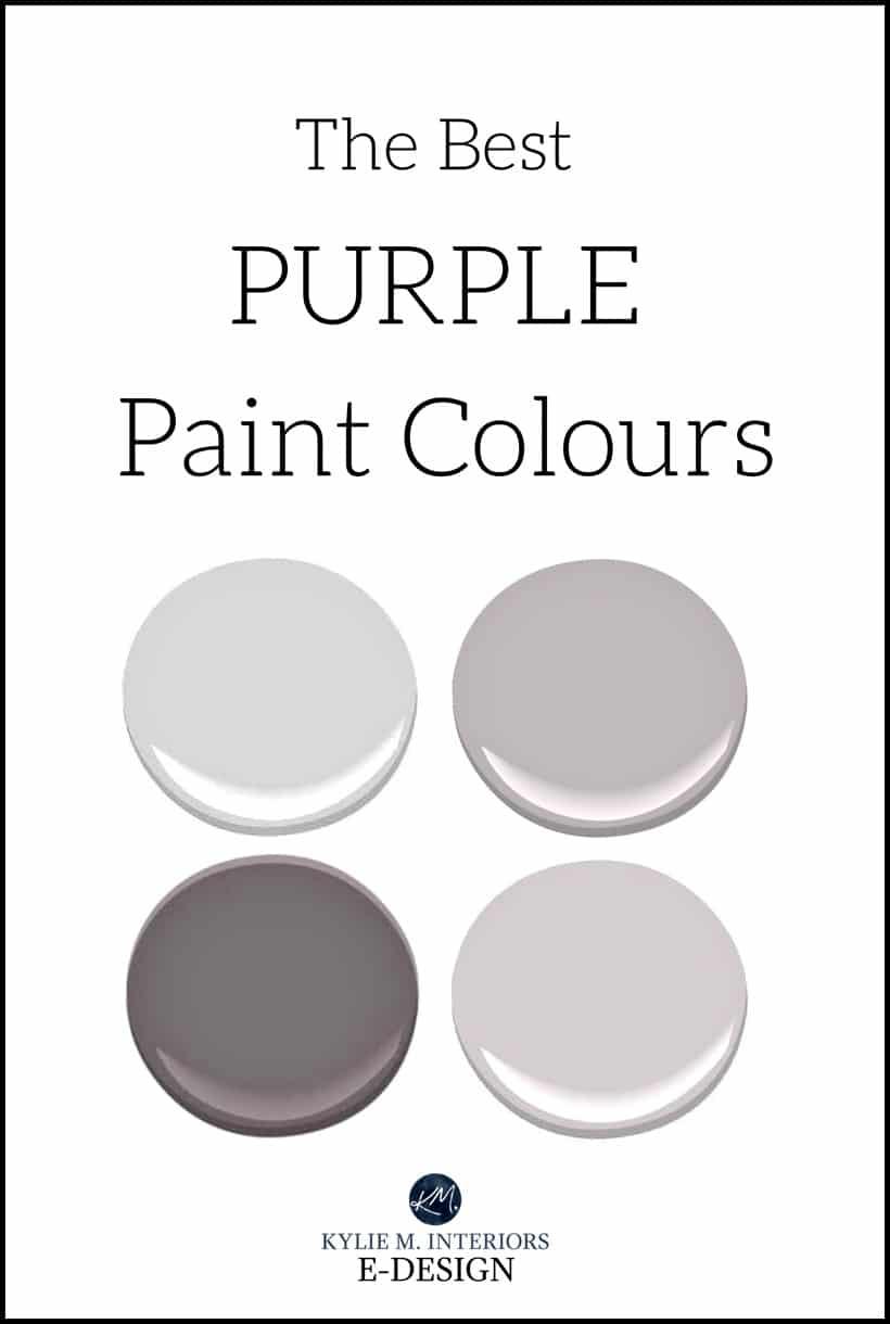 The best purple paint colours benjamin moore sherwin for Benjamin moore virtual paint