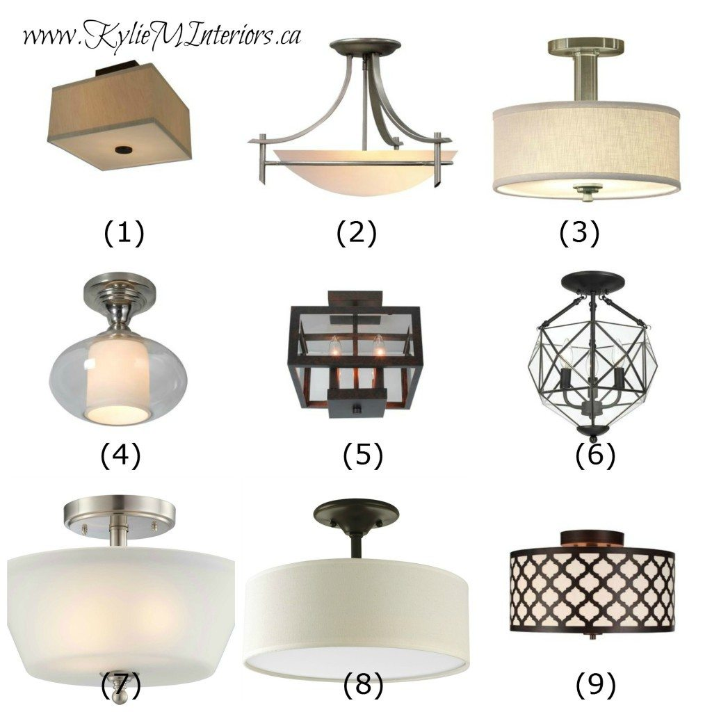 Bedroom Light Fixtures: Ideas To Update Lighting On A Budget Using Flush Mount