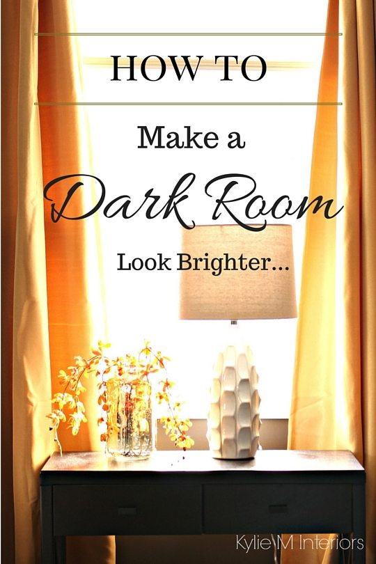 4 ideas how to make a dark room basement feel brighter for How to pain a room