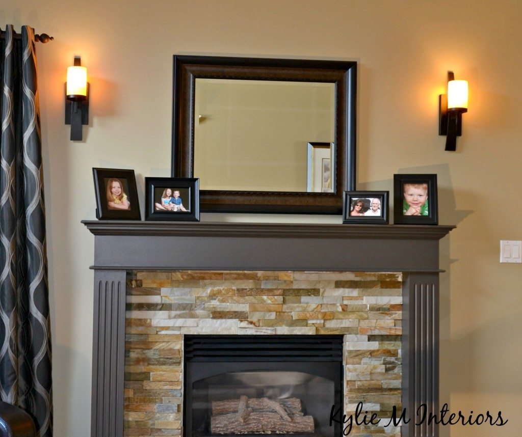 The Right Height To Hang Wall Sconces Beside A Fireplace
