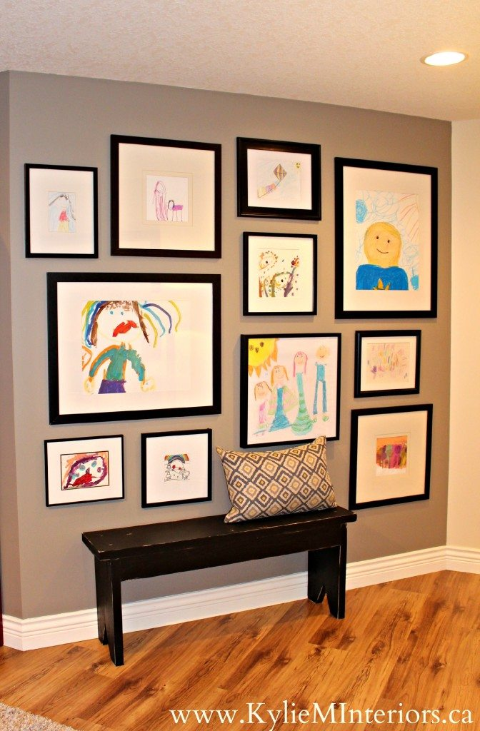3 Ideas For A Kids Art Gallery Wall Our Home