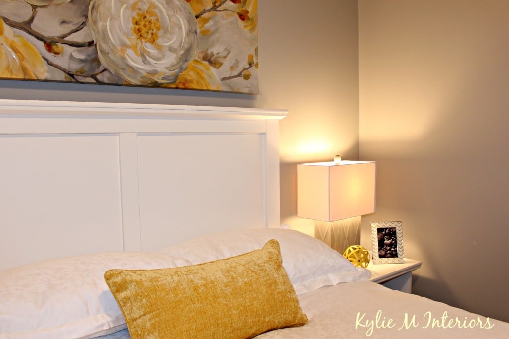 Home Staging Ideas For Bedroom Using Yellow And Gray With