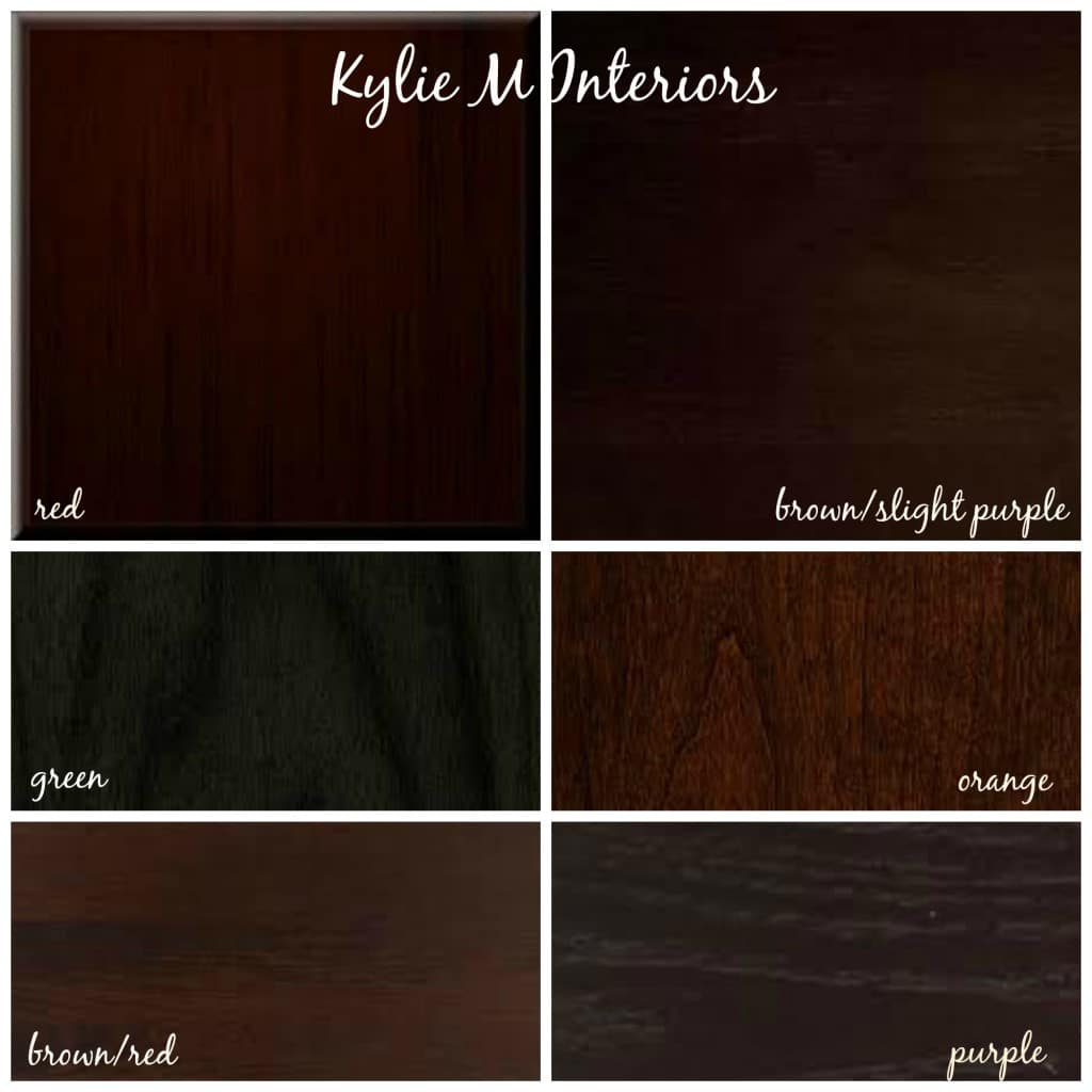 How To Mix And Match Cherry, Espresso, Oak, Maple Wood Stains And Undertones Part 86