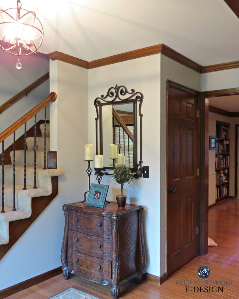Best paint color for dark wood trim oak floor kylie m interiors e