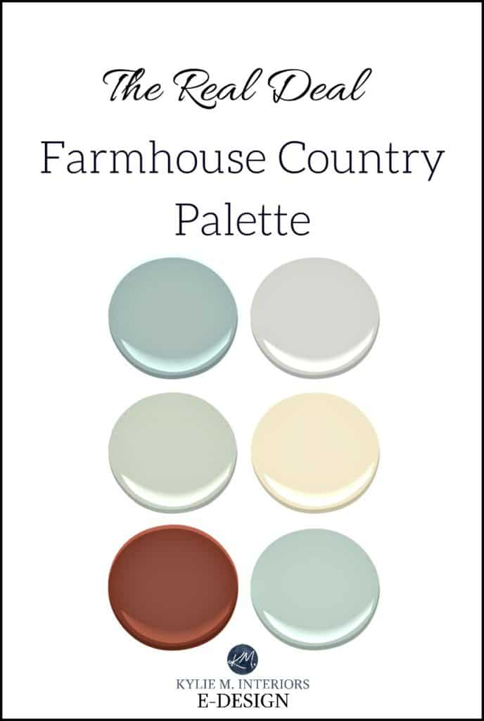 More Colourful Farmhouse Paint Colour Palette For Country Style Kylie M E Design