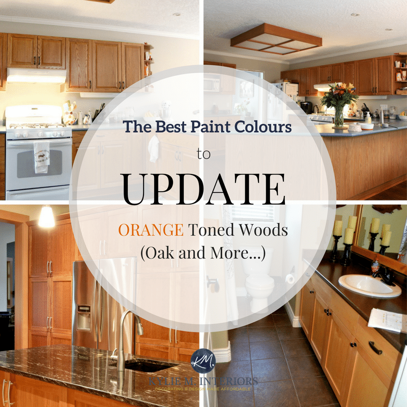 The Best Paint Colours And Ideas To Update Orange Toned Oak Wood Cabinets Make Sure You Stop Thinking