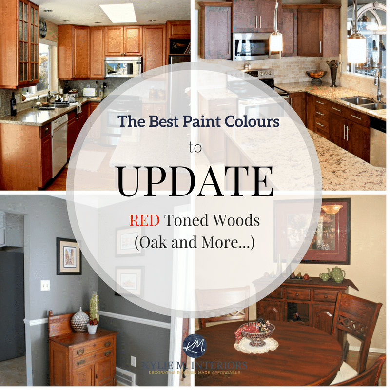 The Best Paint Colours To Go With Oak Or Wood Trim Floor - Best color for kitchen walls with wood cabinets