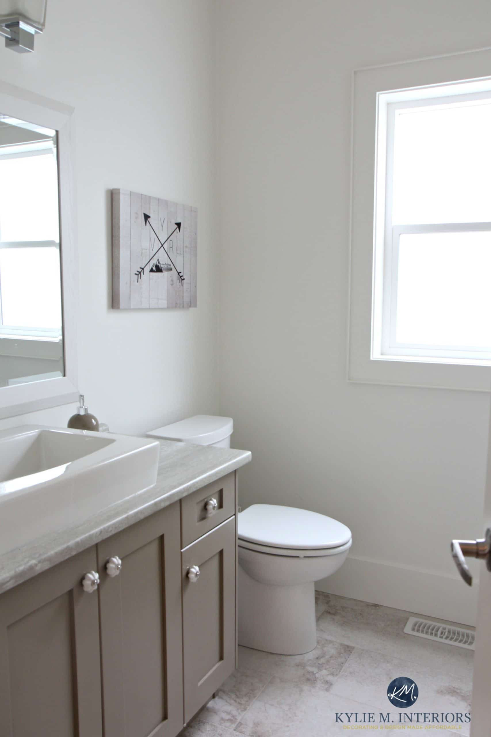 Benjamin Moore White Dove is a great off white for home staging and