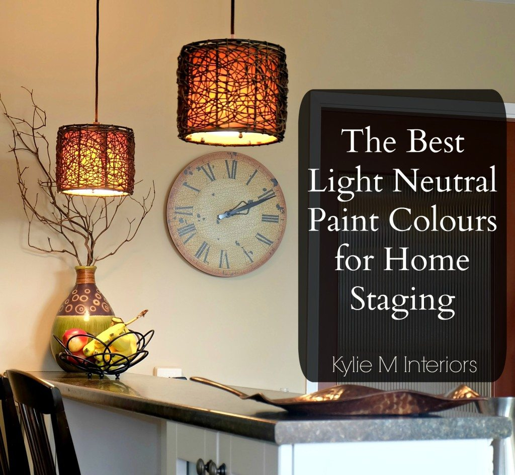 & Top 8 Light NEUTRAL Paint Colours for Home Staging Selling