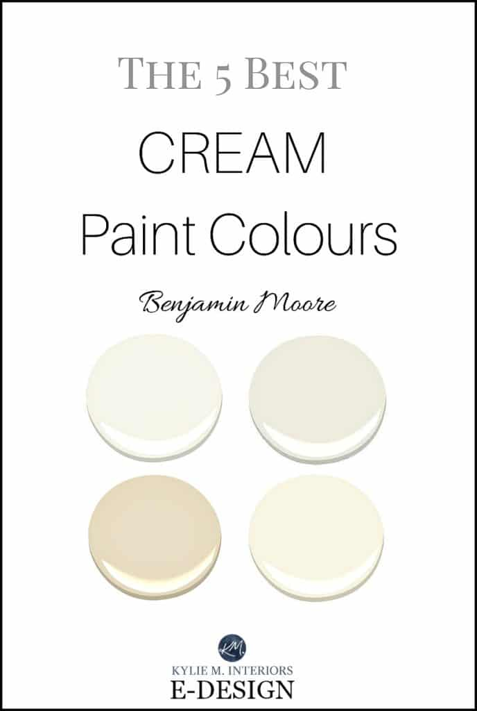 The best cream paint colours benjamin moore for Neutral off white paint
