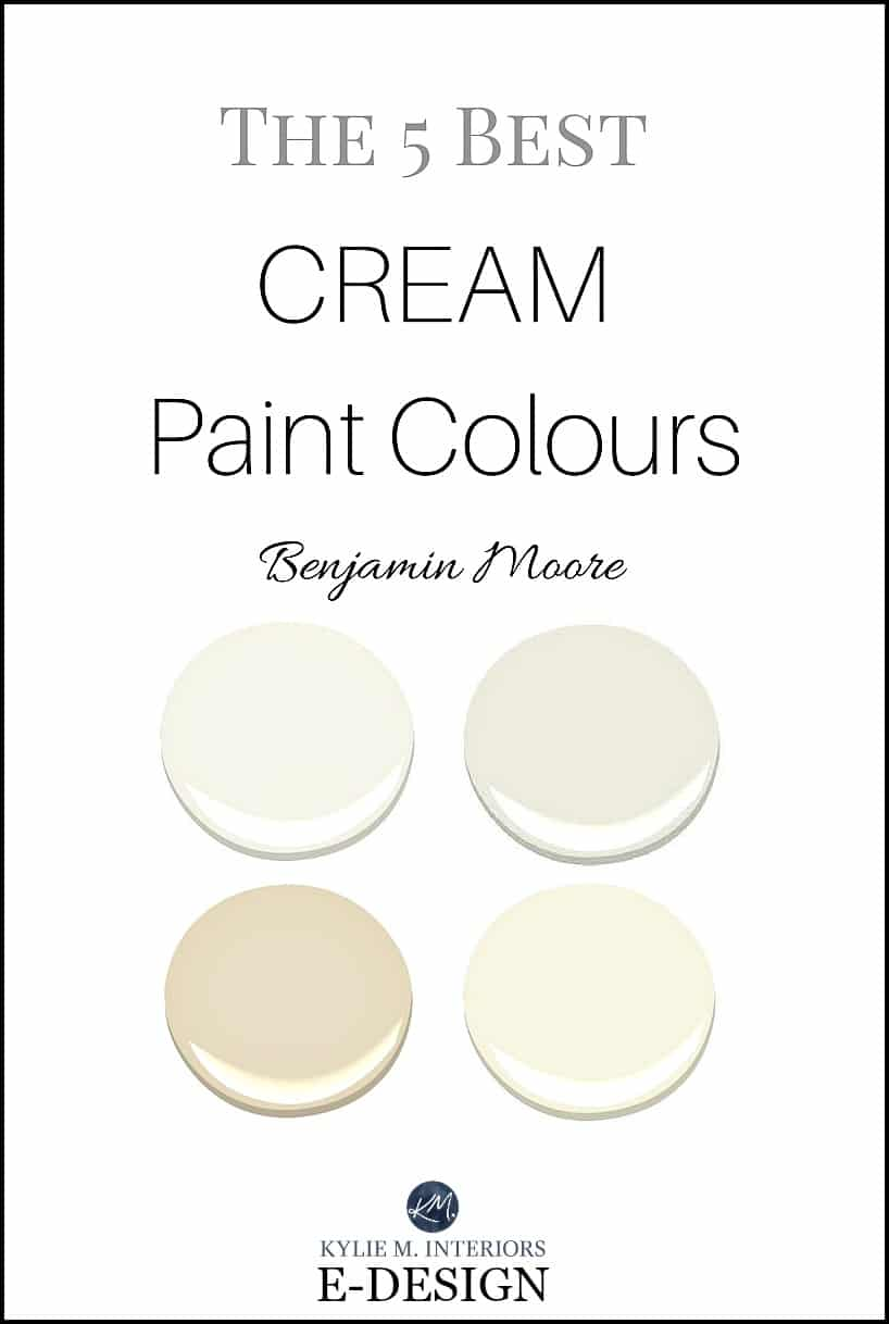 The best cream paint colours by benjamin moore off white for Warm cream paint colors