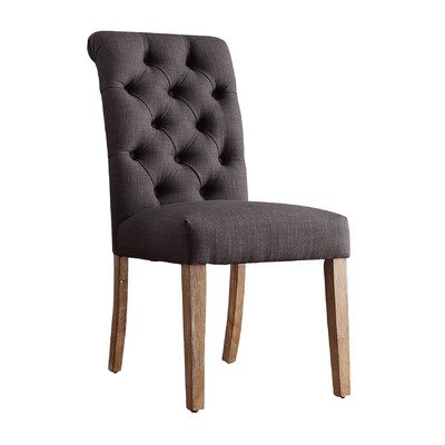 Chair ideas to update a maple or oak dining set