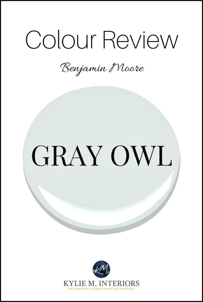 Colour review, Benjamin Moore Gray Owl. Kylie m INteriors Edesign, online virtual paint color consultant