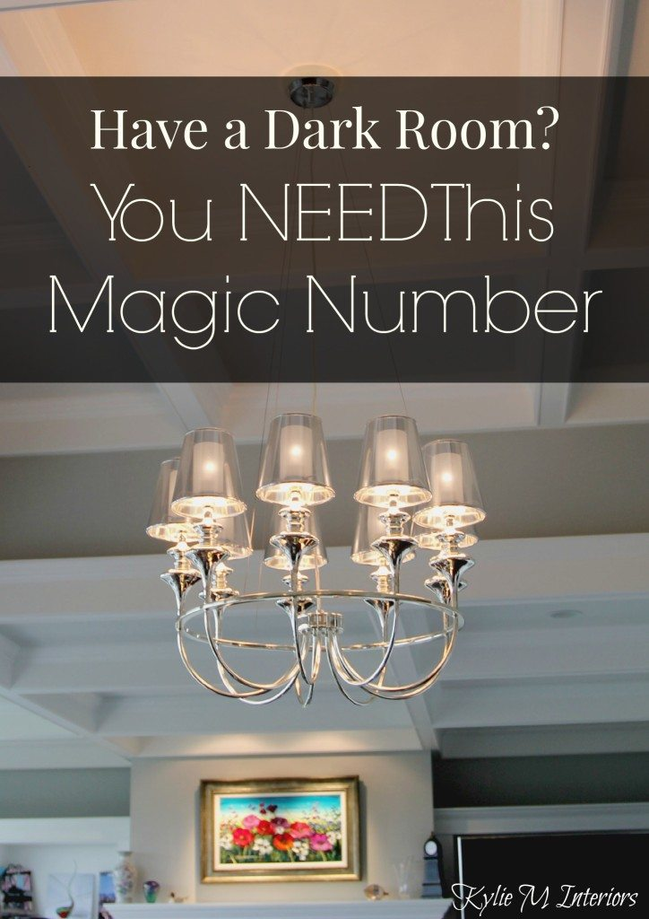 How To Make A Dark Room Family Room Or Basement Feel
