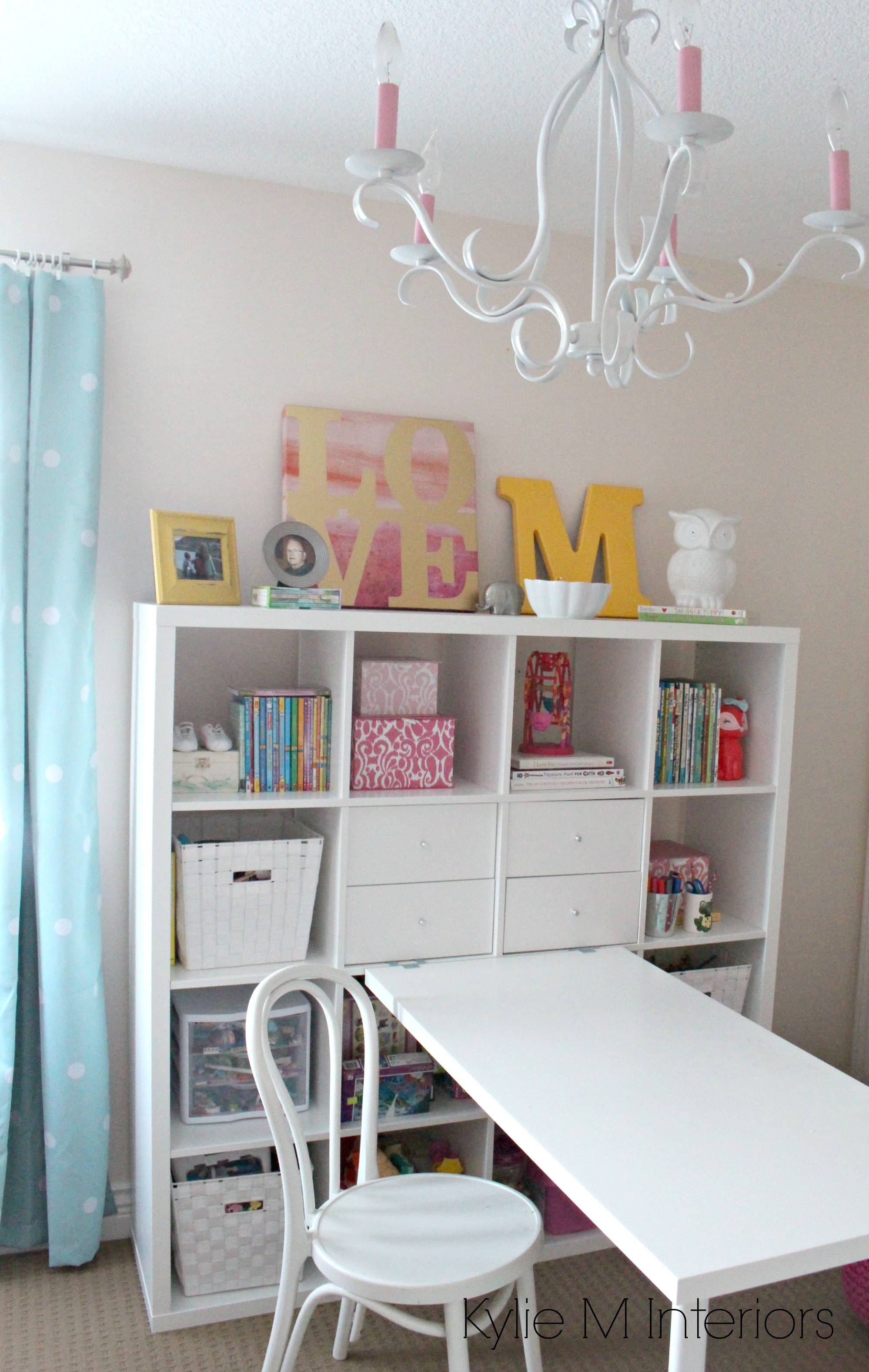 Little Girls Bedroom In Benjamin Moore Pink Bliss With