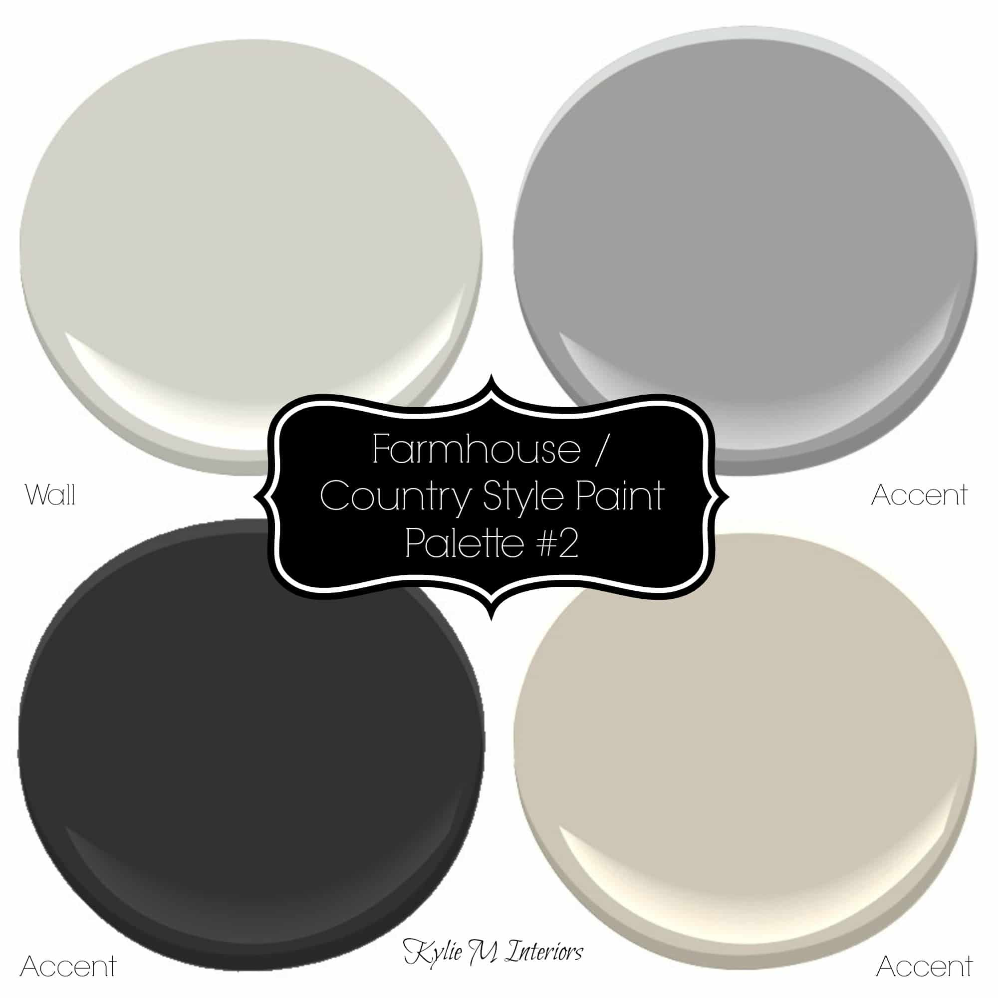 Sherwin williams 3 neutral farmhouse country paint palettes - Sherwin williams exterior textured paint ...