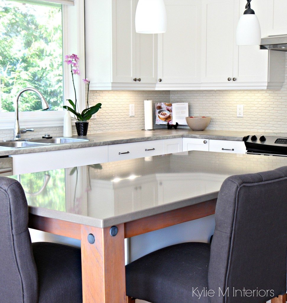 Kitchen Countertops And Backsplash Photos: Our Kitchen Makeover
