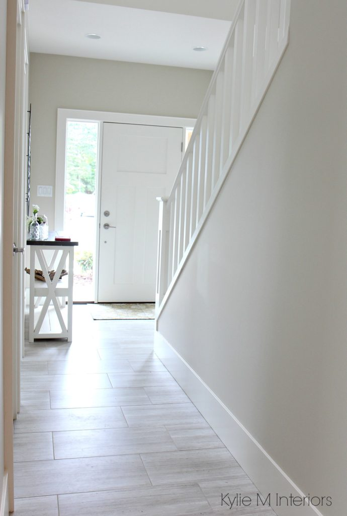 hallway paint colorsThe 3 Best NOT BORING Paint Colours to Brighten Up a Dark Hallway