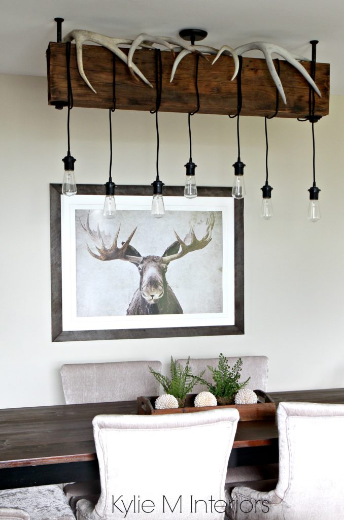 Benjamin moore grant beige rustic hunting decor with for M design interiors