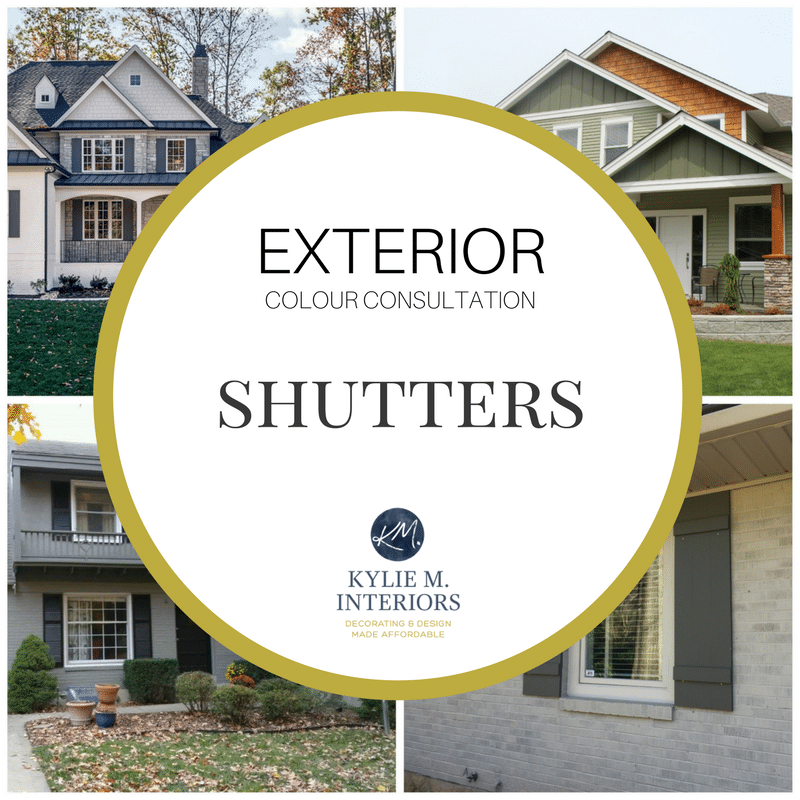 Shutter colour kylie m interiors - Exterior paint that lasts forever ...