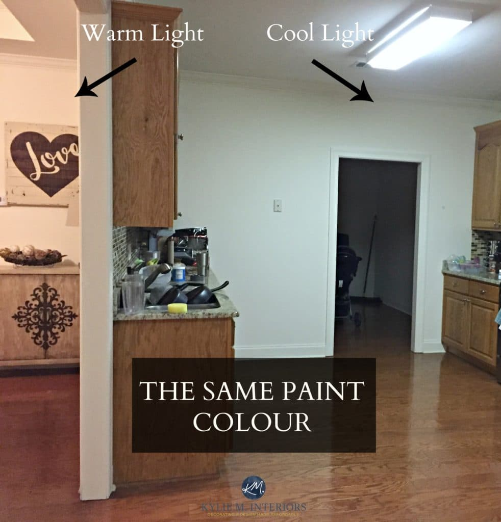 How Fluorescent Light Affects Paint Colour