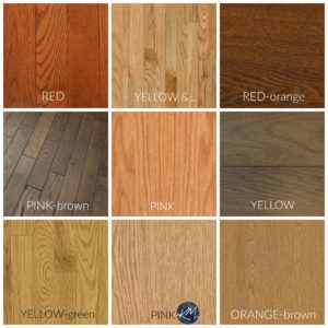 How To Coordinate Wood Stains Finishes Oak Maple