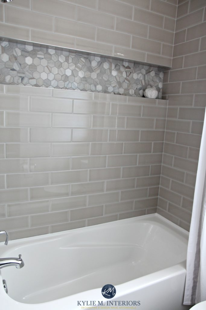 Top Our Bathroom Remodel – Greige, Subway Tile and More… KU01