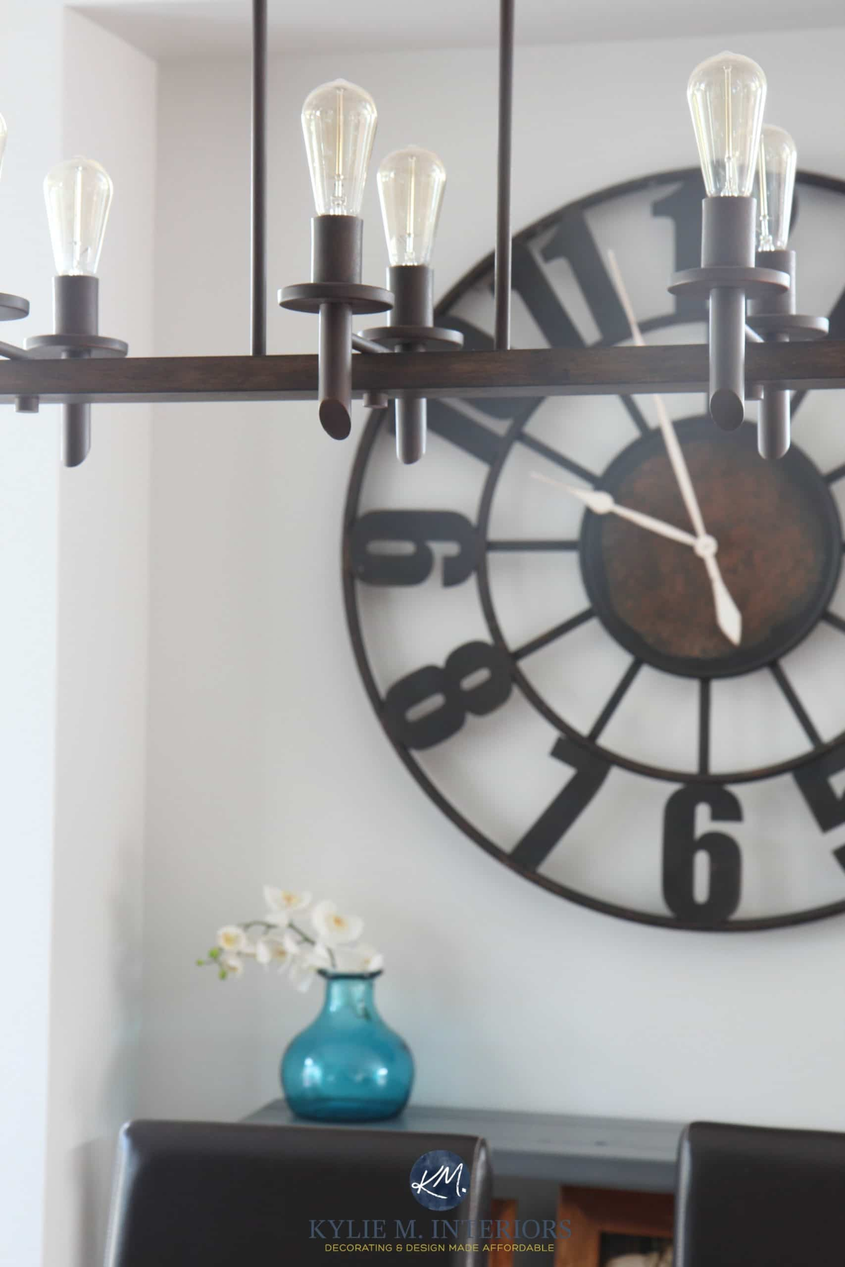 How to Decorate with Large Clocks (and my favourite