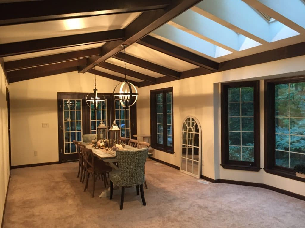 E Design An Agreeable Farmhouse Dining Room Makeover