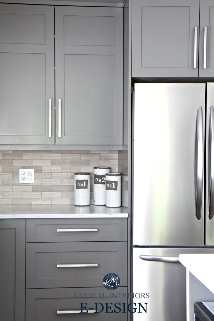 The Best Benjamin Moore Paint Colors Grays Including Undertones - Best grey color for kitchen cabinets