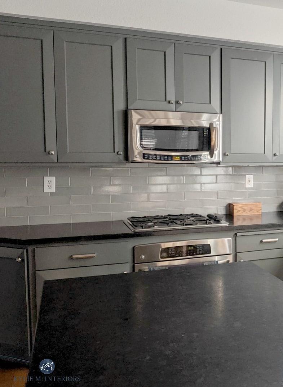 - Kitchen Cabinets, Shaker Style Doors Painted Benjamin Moore Kitty