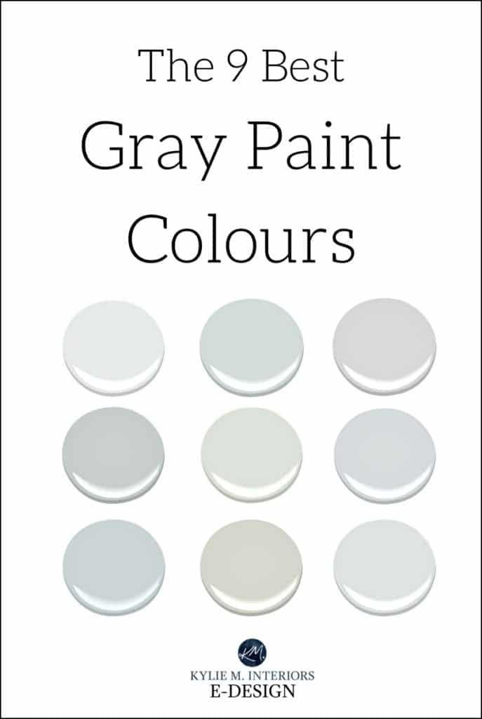 The best benjamin moore gray and greige paint colours