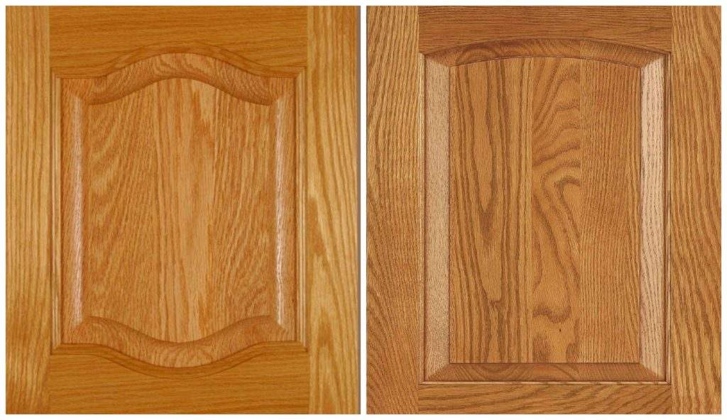 Ideas to update oak kitchen cabinets, cathedral, arch or shaker. Hardware. Kylie M Interiors E-design, e-decor blog.jpg