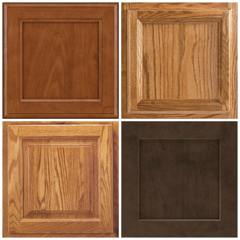 Ideas to update oak, maple or wood cabinets, cathedral, arched, shaker. Hardware options. Kylie M blog and E-design