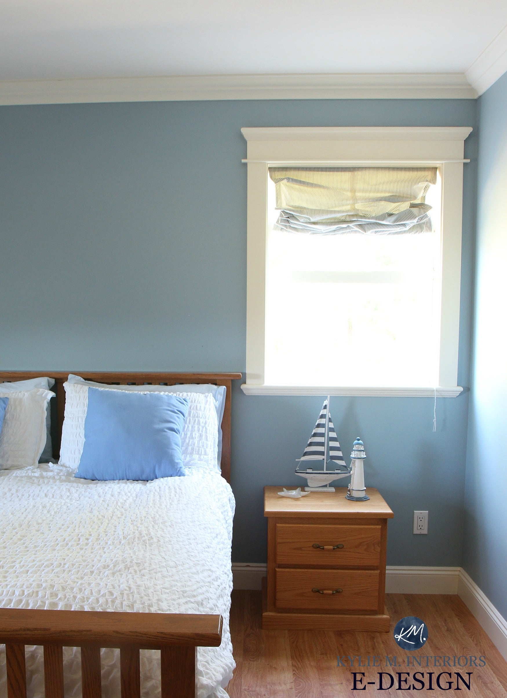 Best Benjamin Moore Blue Paint Colour. Mountain Air. Guest