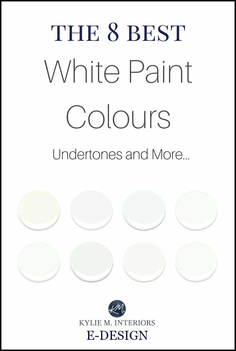 The best white paint colours benjamin moore undertones and lrv kylie m e design and online Best interior white paint