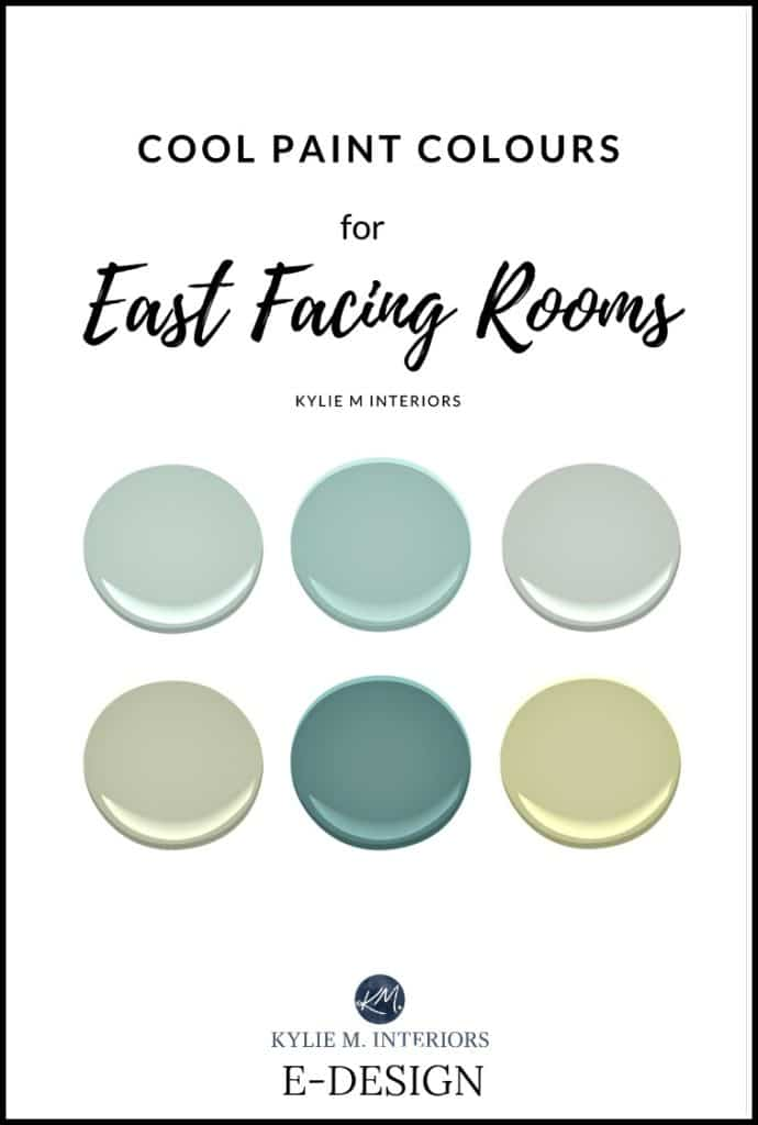 The best paint colours for east facing rooms for Popular light paint colors