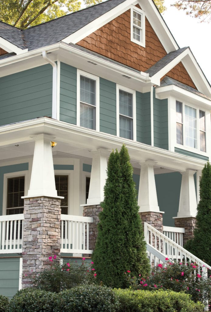 2018 colour of the year behr in the moment colour review - Behr exterior paint ideas property ...