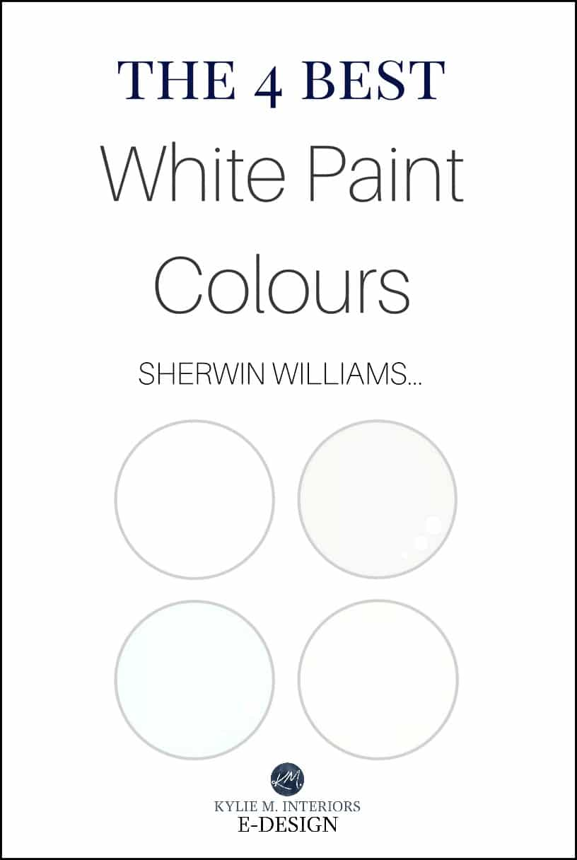 Sherwin williams best white paint colours cabinets trim for Sherwin williams color of the month october 2017