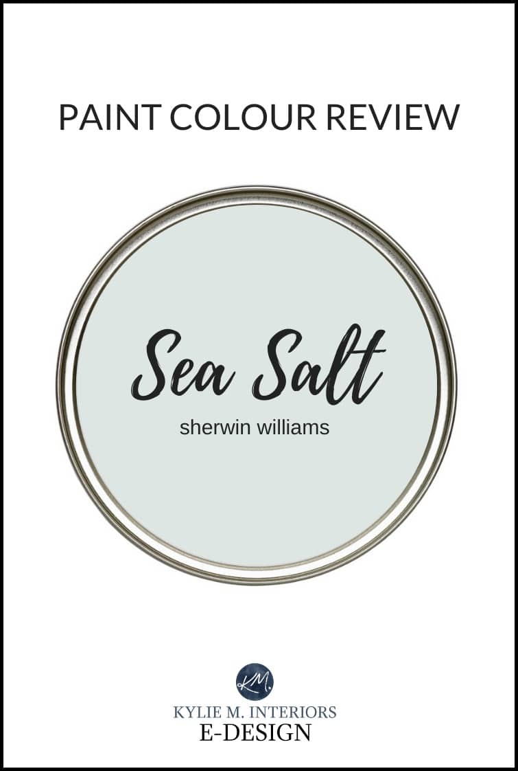 Paint Colour Review Sherwin Williams Sea Salt Undertones And More Kylie M Interiors