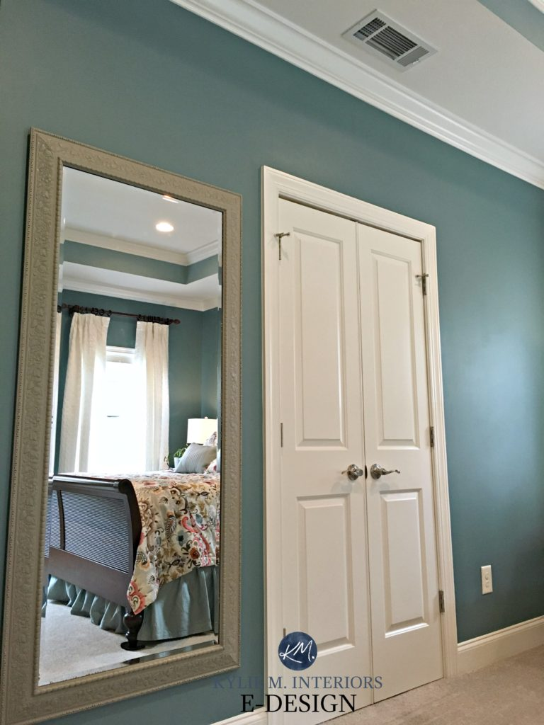 Sherwin Williams Moody Blue, Kylie M E-design, online virtual paint colour consultant