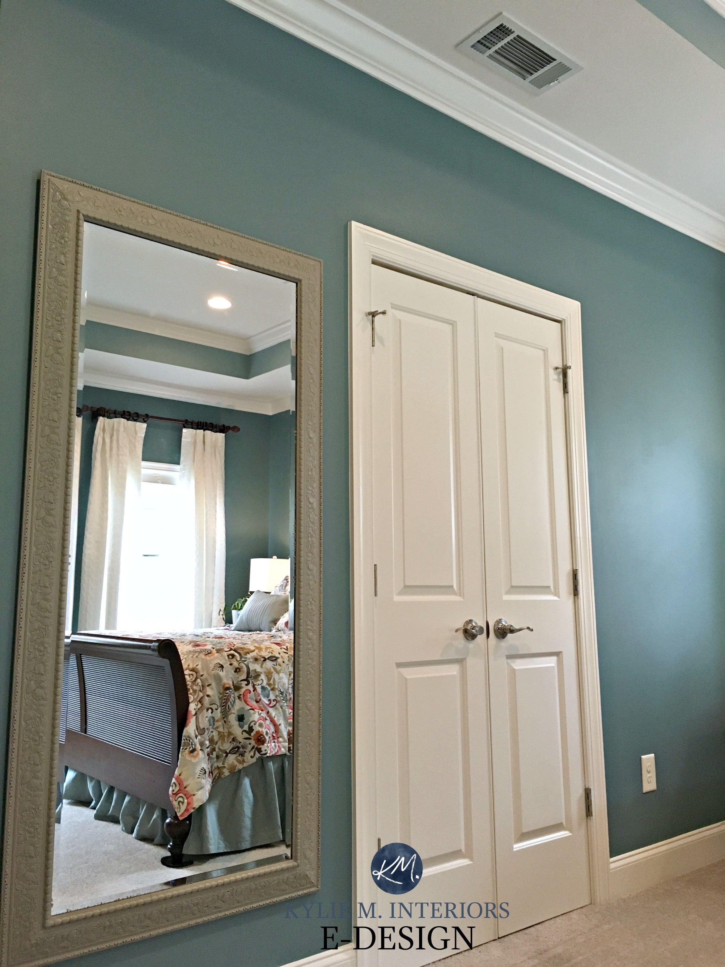 Sherwin Williams Moody Blue, Kylie M E-design, online virtual paint ...