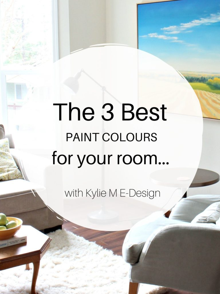The best paint colours for any room. Edesign, online paint colour consultant. Kylie M Interiors. Benjamin and Sherwin. Market