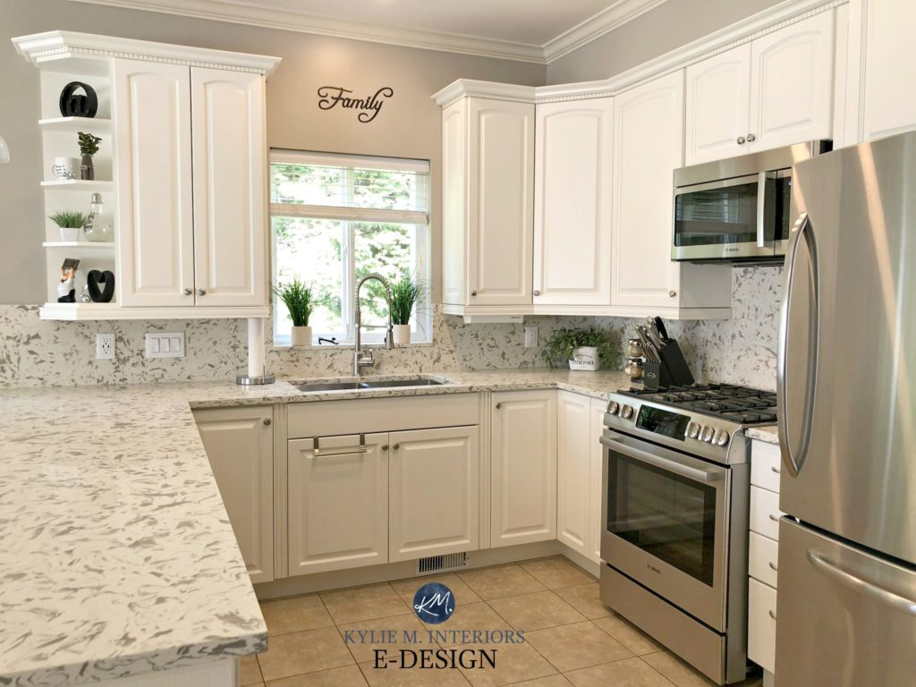 white dove kitchen cabinets e design an oak cabinet makeover with white dove 28562