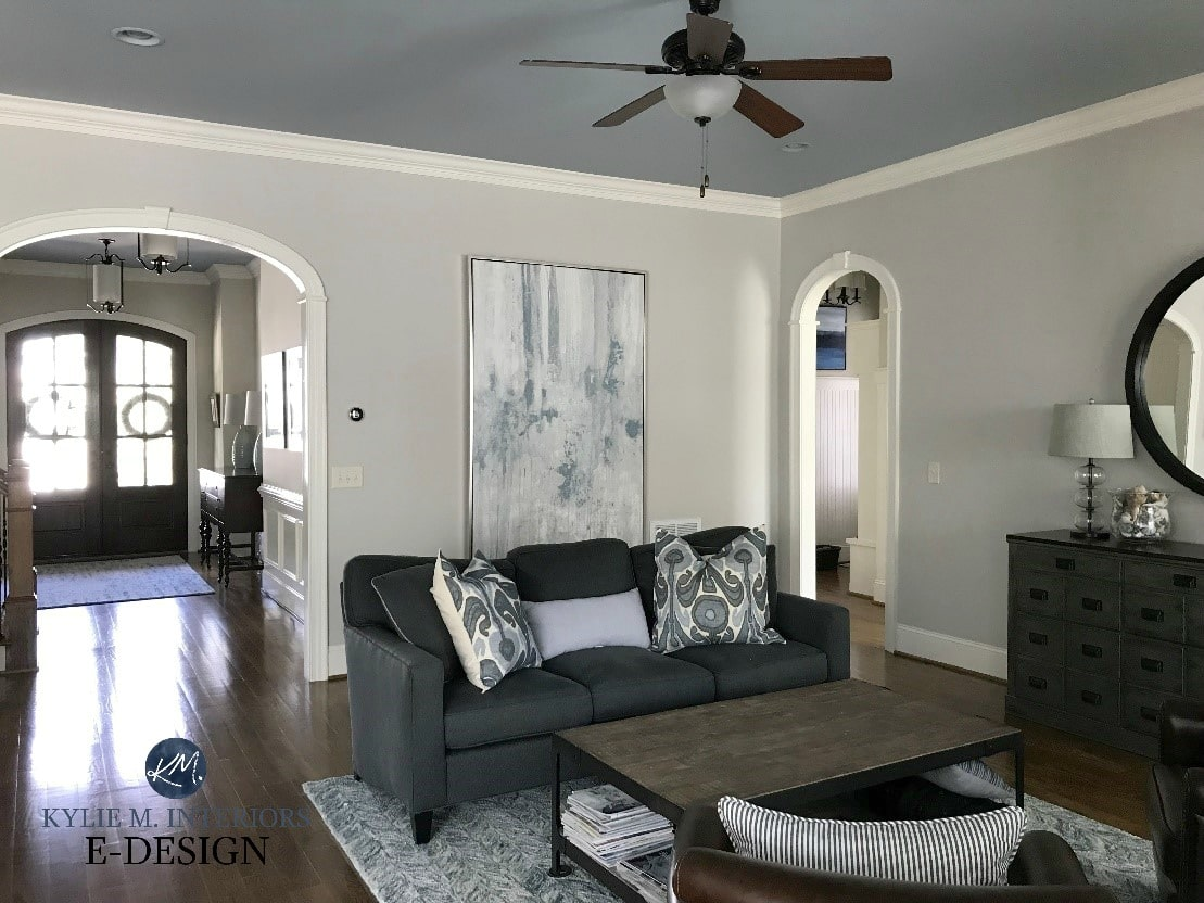 Benjamin Moore Collingwood, best warm gray paint colour, Silver Gray ...